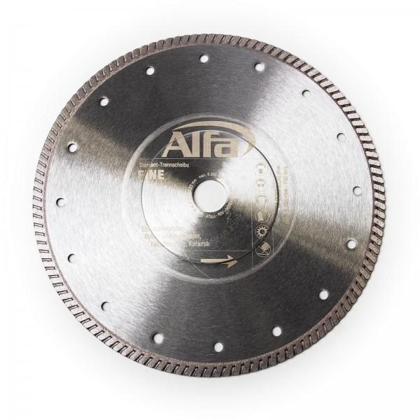 695 ALFA Disque diamant «Fine» pour matériaux de construction