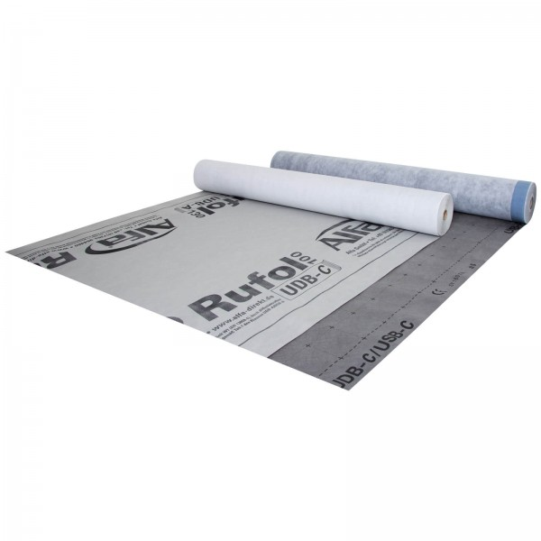 182 ALFA Rufol UDB-C 100 Ecran de sous toiture en 3 couches - 100 g/m²