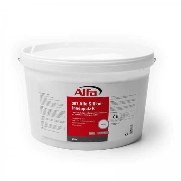 267 Alfa Enduit intérieur au silicate (plâtre à gratter)
