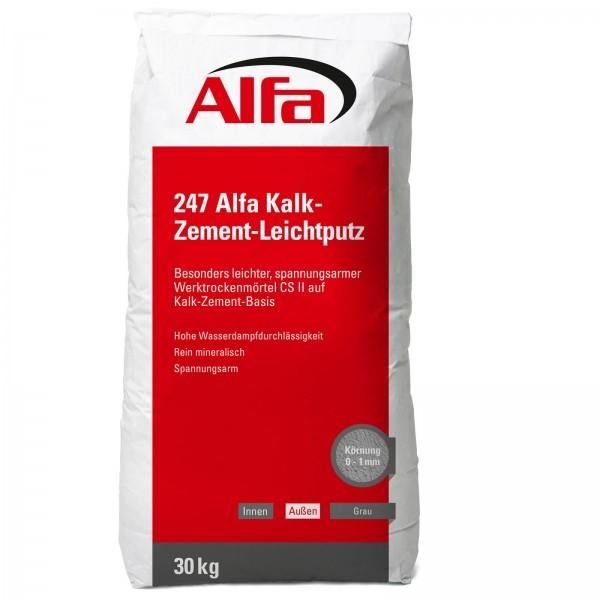 247 ALFA Enduit léger à base de ciment à la chaux