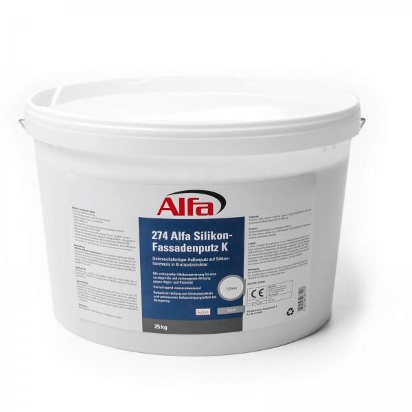 274 Alfa Enduit silicone pour façade