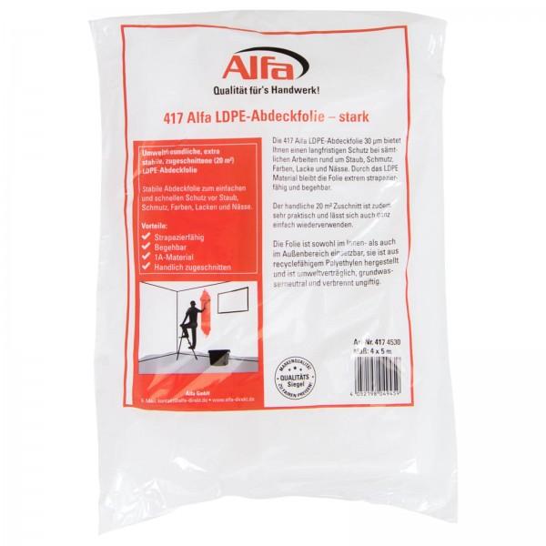 417 ALFA film de protection LDPE