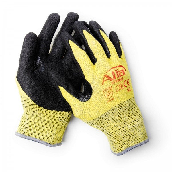 874 ALFA - Gant de protection anti coupures nitrile