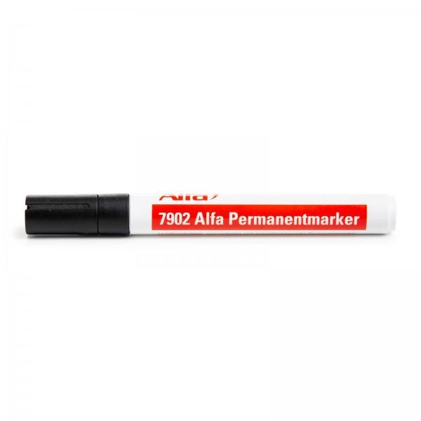 7902 Alfa Marqueur Permanent Noir
