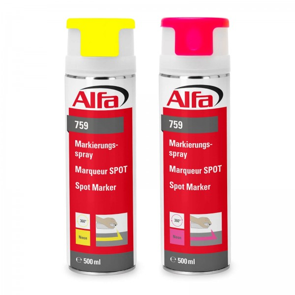 759 ALFA - Marqueur SPOT (Couleurs néon)