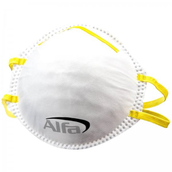 907 ALFA Masque de protection poussières fines FFP1 sans soupape