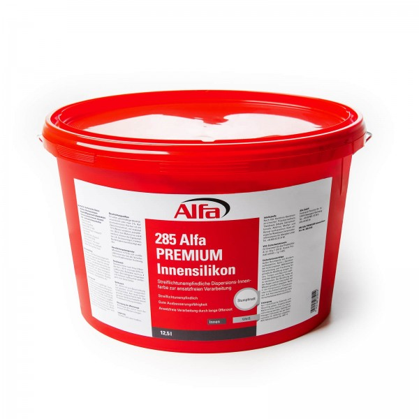 285 Alfa PREMIUM Silicone intérieur (peinture d'intérieur à dispersion)