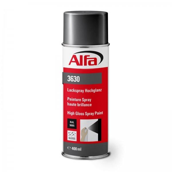 3630 Peinture en spray Alfa haute brillance (différentes couleurs)