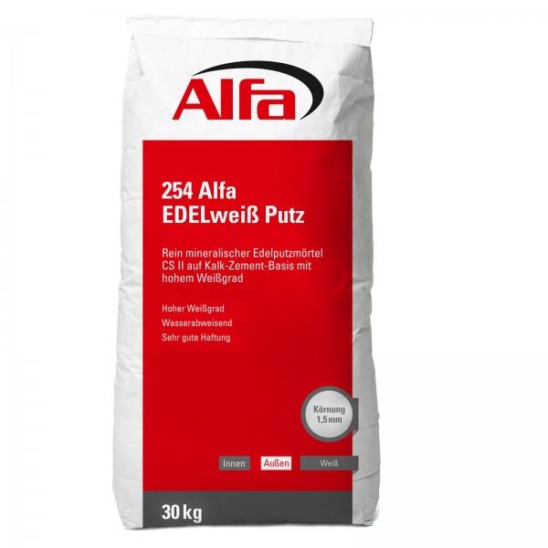 254 ALFA Plâtre blanc fin