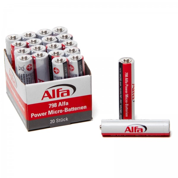 798 ALFA POWER Micro – Piles (AAA)