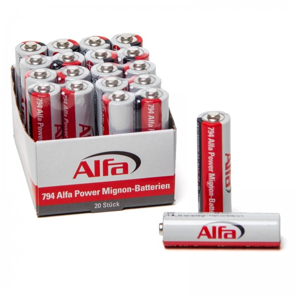 794 ALFA POWER Mignon – Piles (AA)