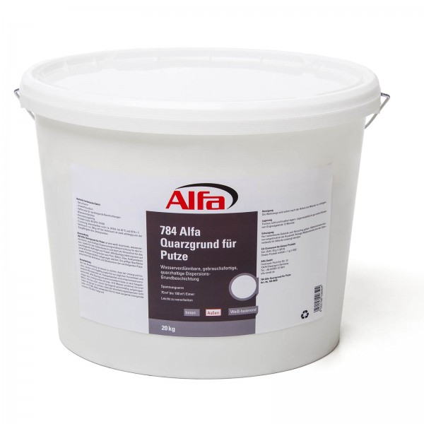 784 ALFA - Primaire de quartz pour enduits