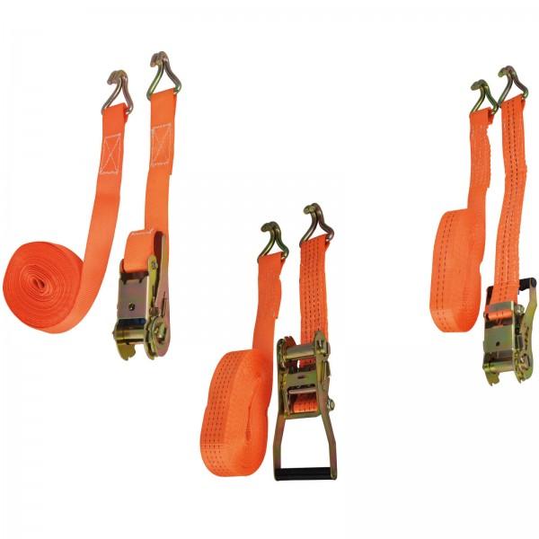 978 ALFA - Sangles d' amarrages pour professionnels 2 pièces - système de cliquet
