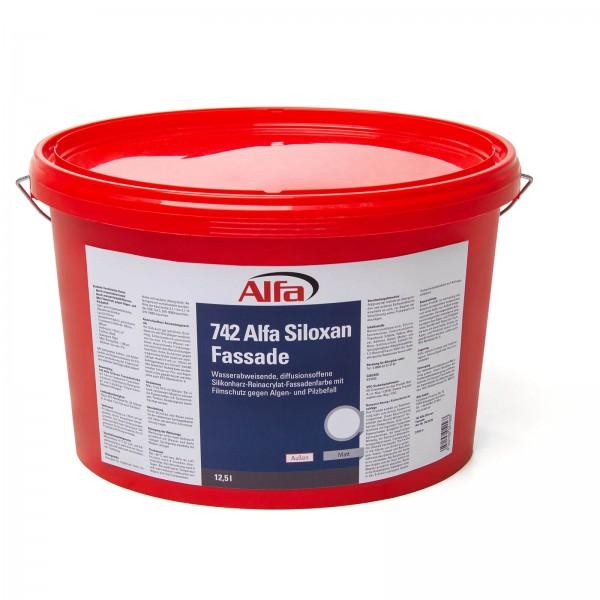742 ALFA Siloxan façade (résine de silicone - acrylique pur - peinture pour façade)