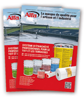 ALFA ETAG systeme etancheite professionnel pour toit plat et terrasses mode emploi