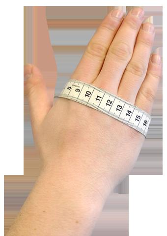 Définir la taille des gants