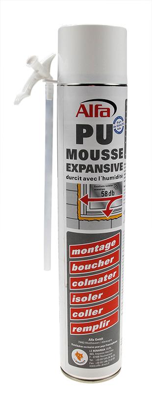 Mousse expansive PU 1K